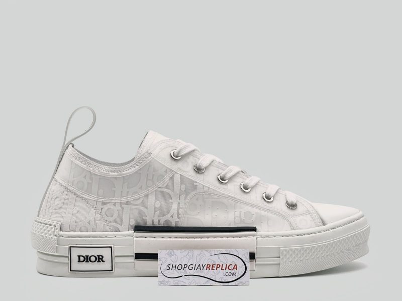 Giày Dior B23 Low Top White Dior Like Auth