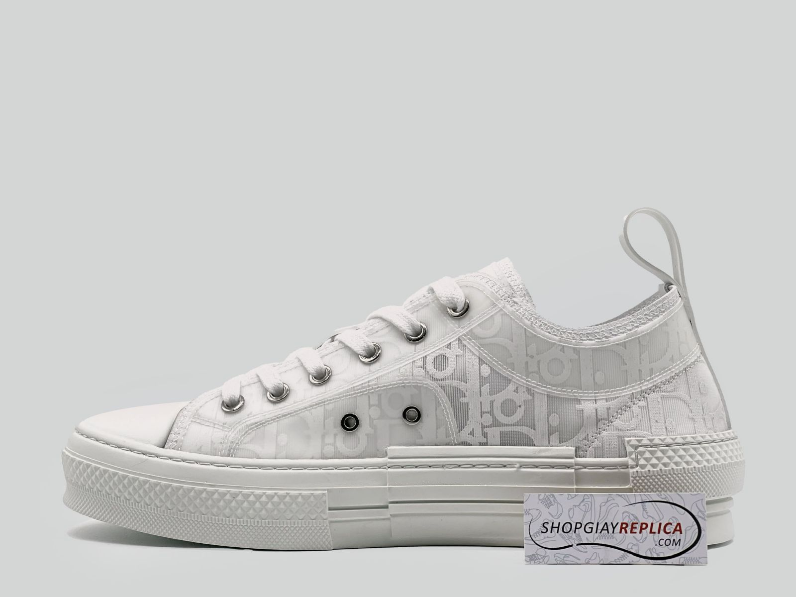 Giày Dior B23 Low White Dior Like Auth
