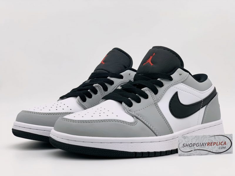Giày Nike Air Jordan 1 Low Light Smoke Grey replica