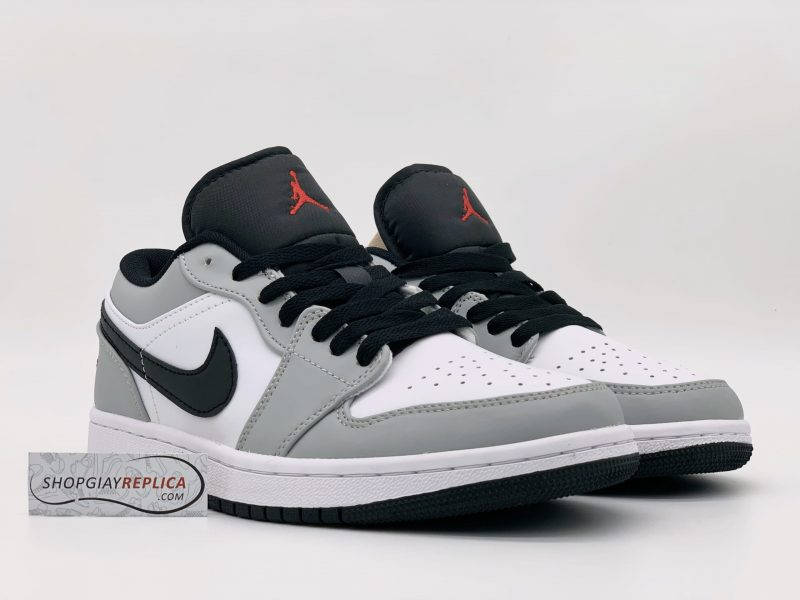 Giày Nike Air Jordan 1 Low Light Smoke Grey 1:1