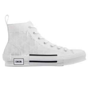 Giày Dior B23 High Top White Dior Oblique