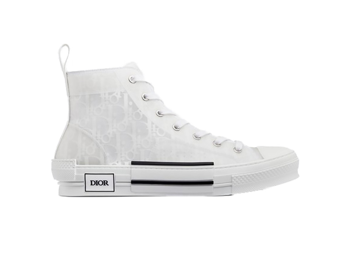Dior B23 High Top White Dior Oblique