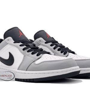 nike air jordan 1 low light smoke grey cổ thấp