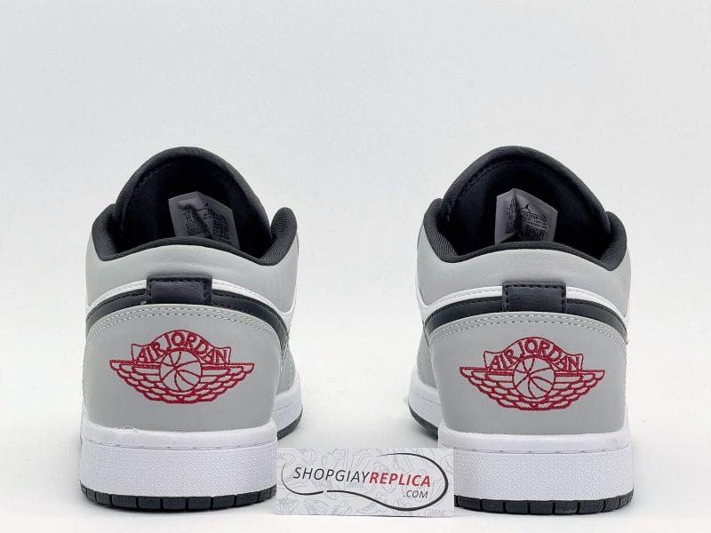gót giày Jordan low light smoke grey