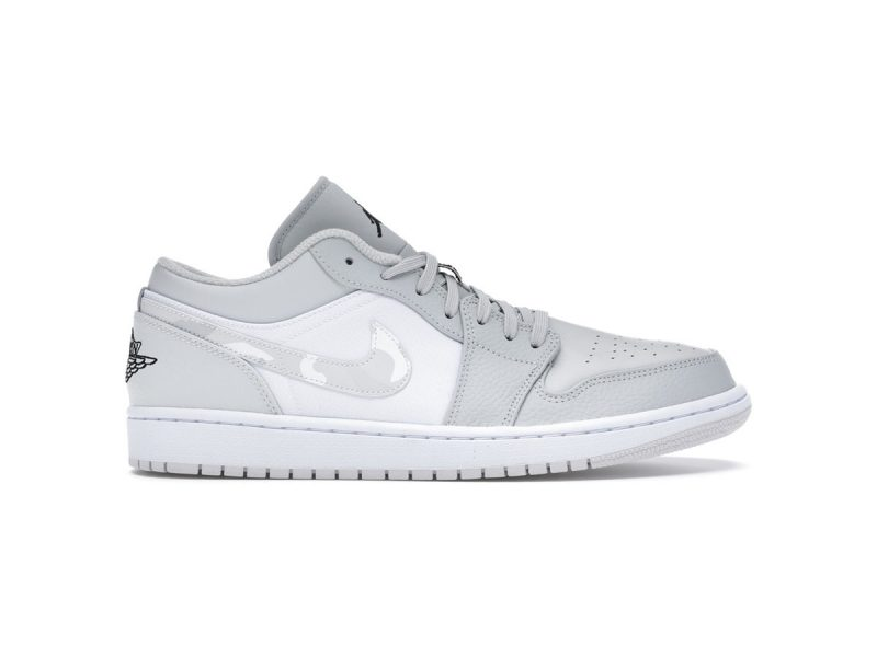 Nike Air Jordan 1 Low White Camo Replica