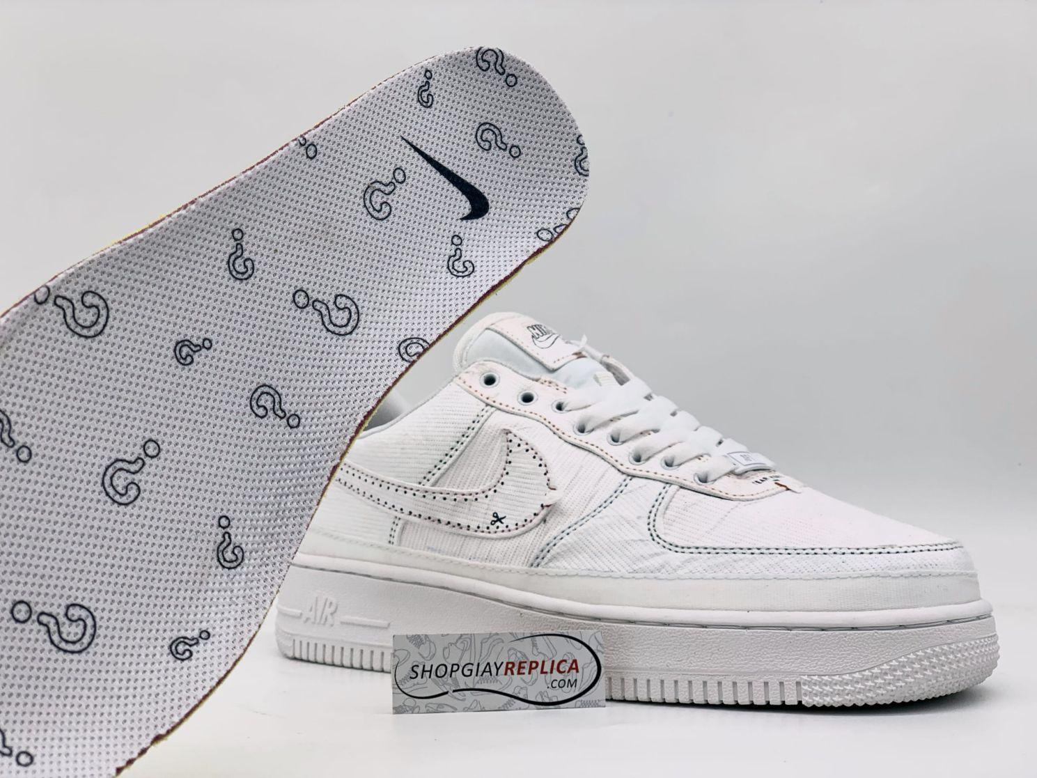 Lót Nike Air Force 1 LX Tear Away Red Swoosh