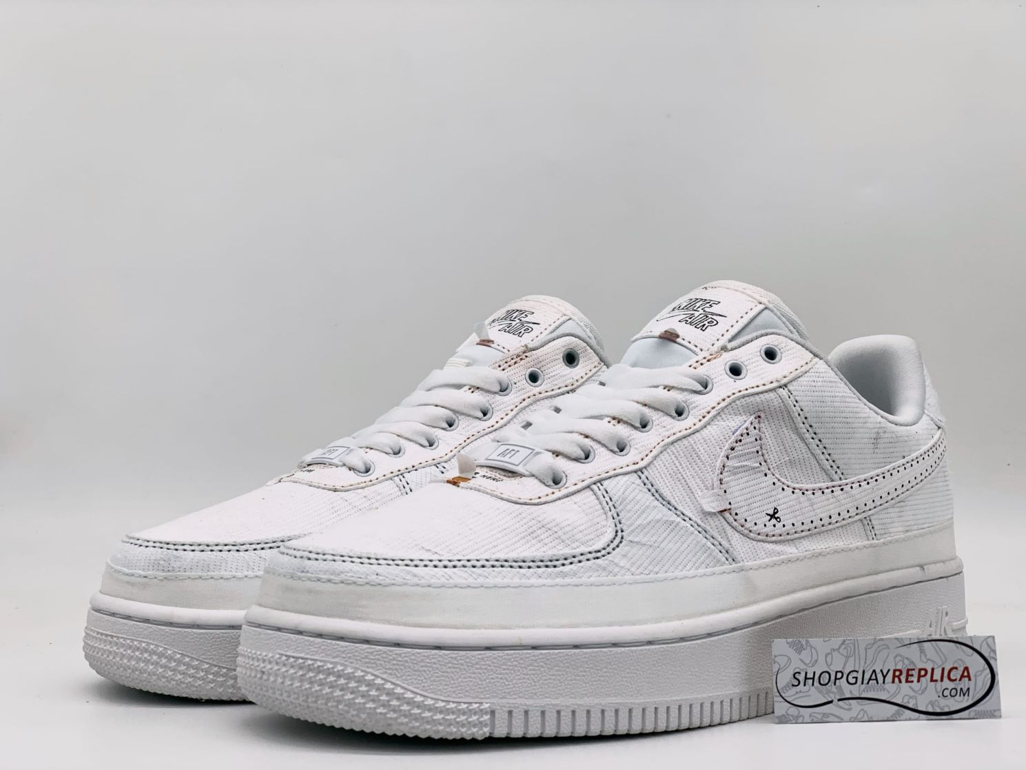Giày Nike Air Force 1 LX Tear Away Red Swoosh