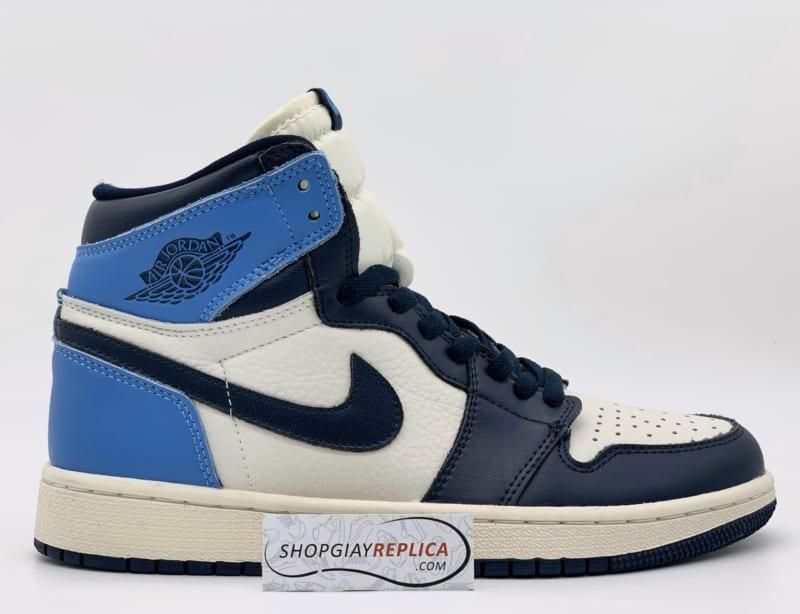 Giày Nike Air Jordan 1 Retro High Obsidian UNC