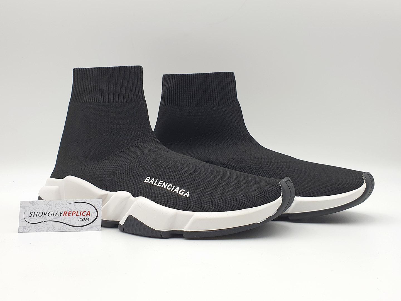 giay Balenciaga Speed Trainer đen đế trắng siêu cấp