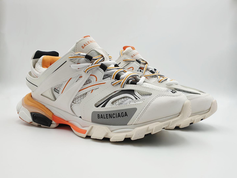 Giày balenciaga track 3.0 Trắng cam xanh