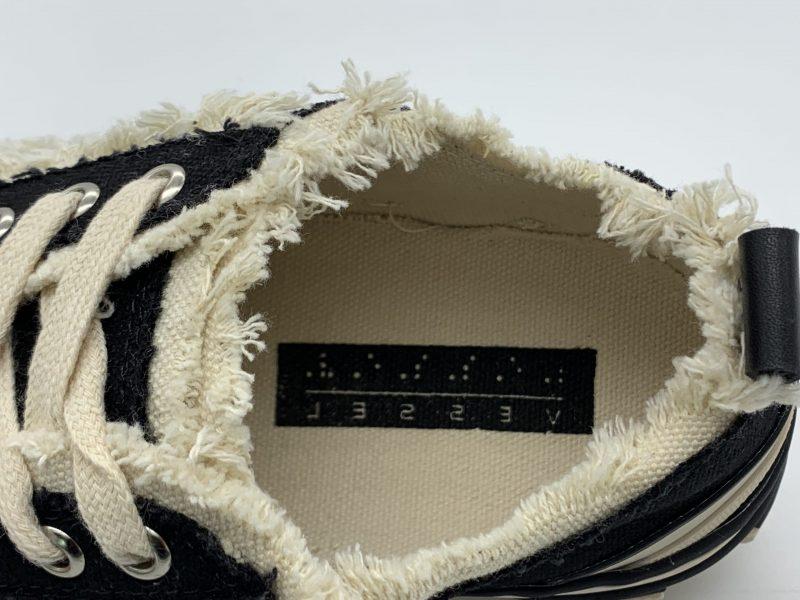chi tiết lót giày xvessel