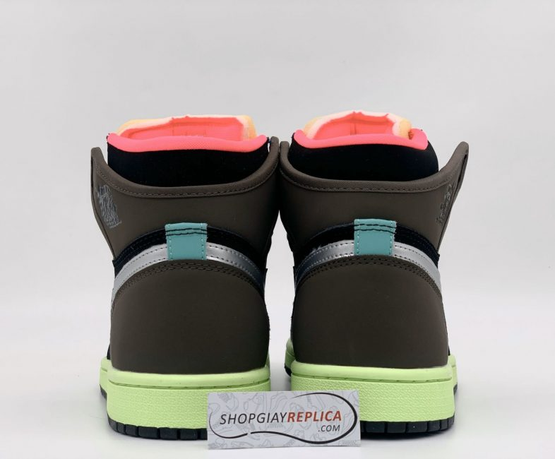 Gót giày Nike Air Jordan 1 Retro High Tokyo Bio Hack