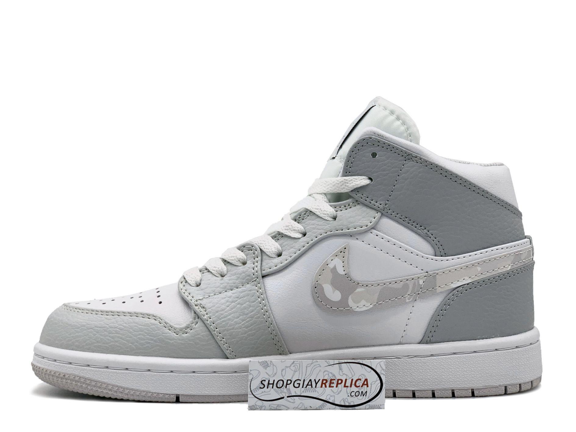 Giay Nike Air Jordan 1 Mid Camo
