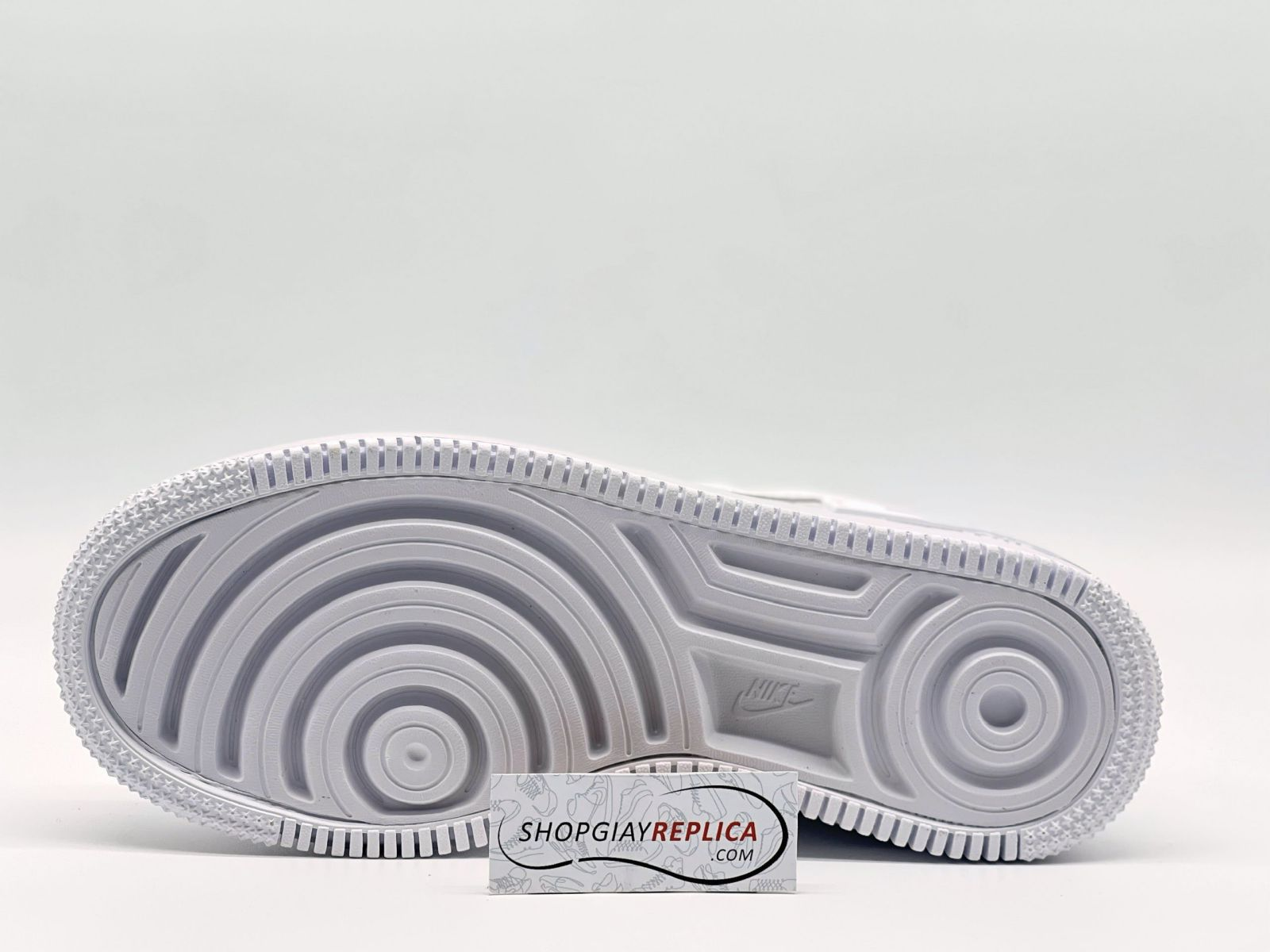 outsole Air Force 1 Shadow Triple White