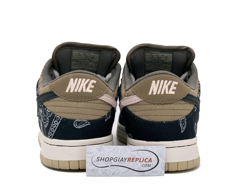 Gót Giày Nike SB Dunk Travis Scott