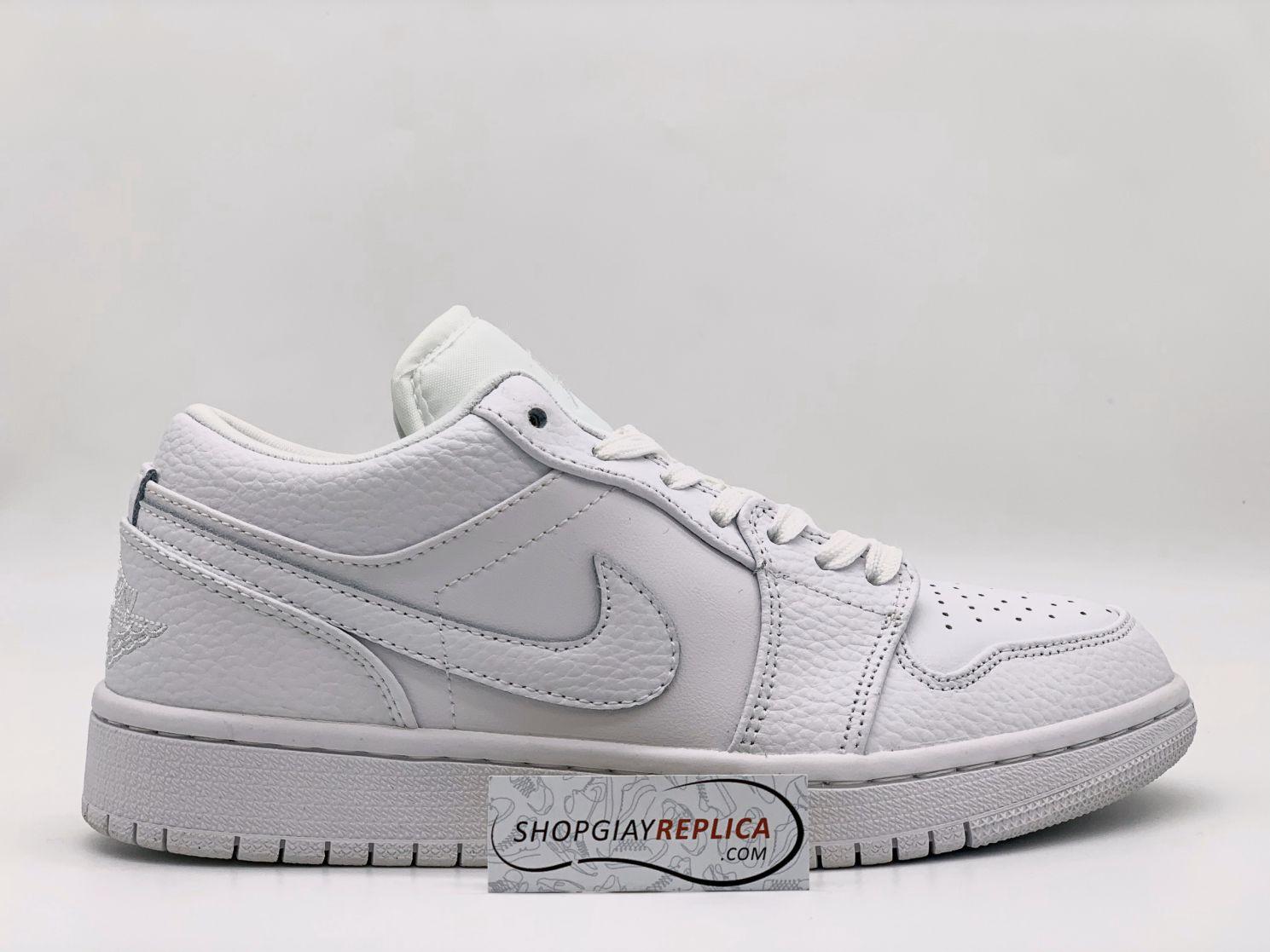 Giày Jordan 1 Full trắng