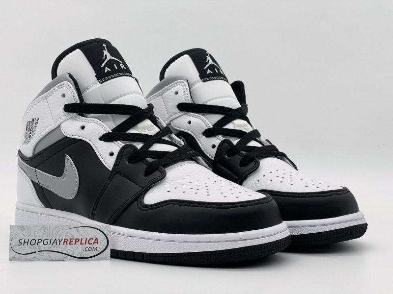 Giày Nike Air Jordan 1 Mid White Shadow