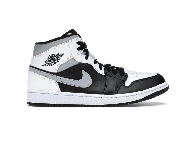 Jordan 1 Mid White Shadow replica