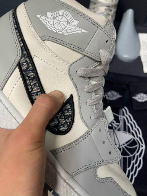 swoosh giày air Jordan 1 Dior like auth