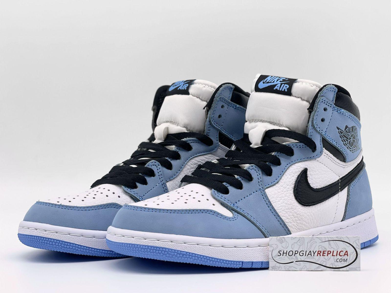 Giày Nike Jordan 1 High University Blue Like Auth