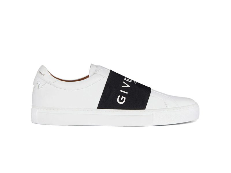 Giày Givenchy Leather Webbing White Black like auth