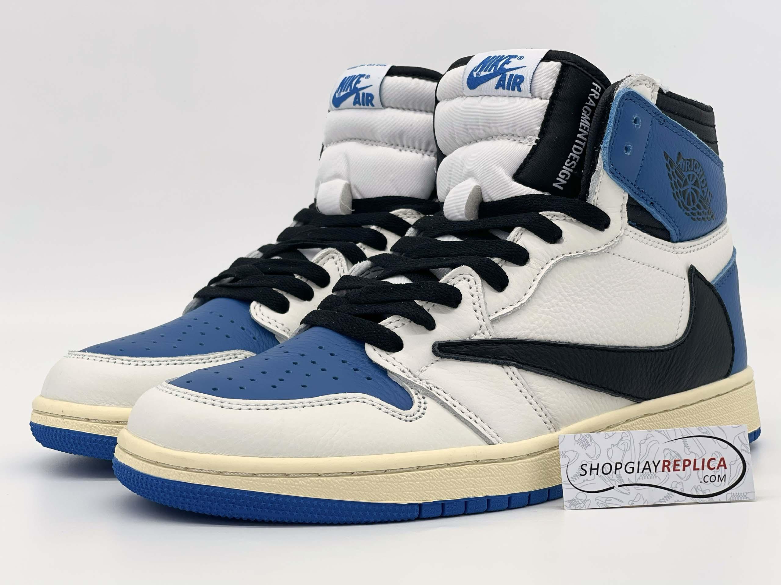 Giày Nike Air Jordan 1 High Travis Scott x Fragment 11
