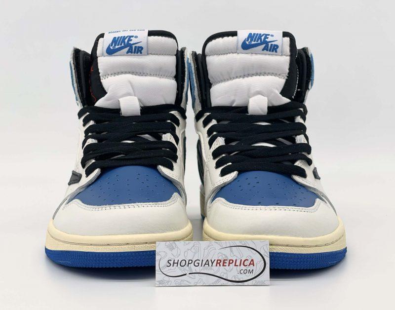 Nike Air Jordan 1 cao cổ Travis Scott x Fragment 11