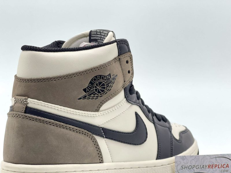 da lộn Nike Air Jordan 1 Retro High Dark Mocha Like Auth