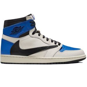Nike Air Jordan 1 High Travis Scott x Fragment Like Auth