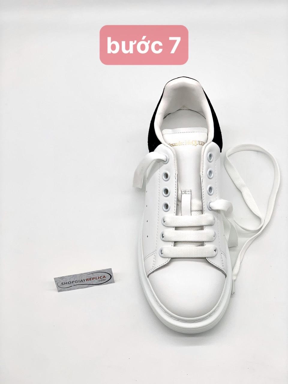 buộc dây giày bản to Mcqueen đơn giản