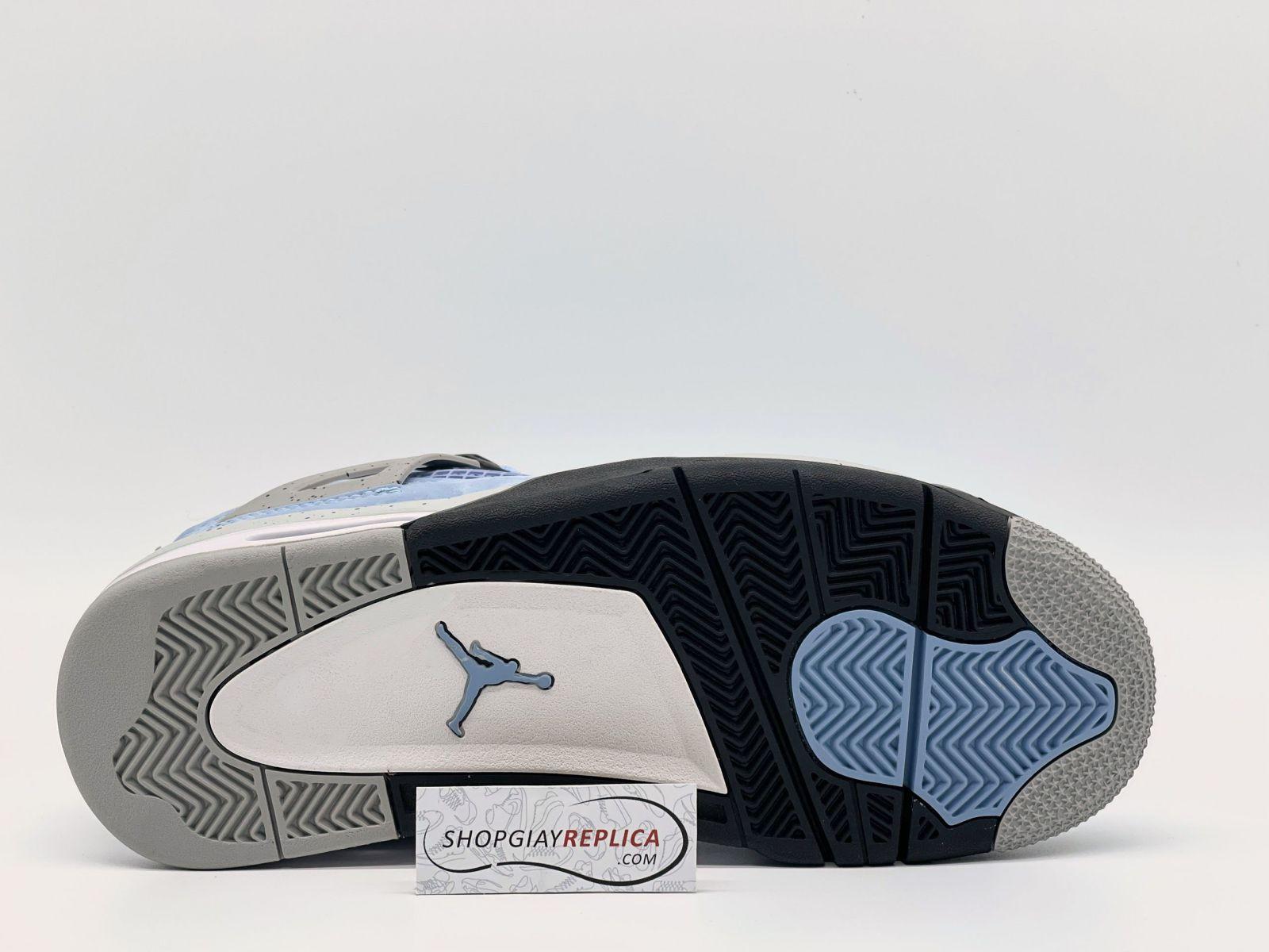 đế giày nike jordan 4 university blue
