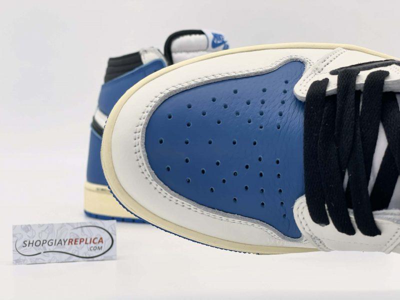 Upper Giày Nike Air Jordan 1 cao cổ Travis Scott x Fragment