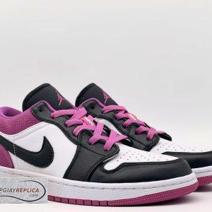Nike Jordan 1 Low Black Active Fuchsia Replica 11