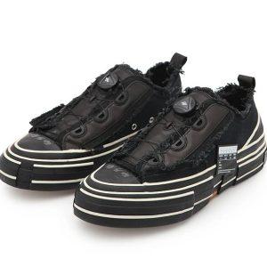 Giày xvessel gop low for Yohji Yamamoto All black