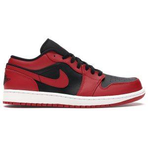 Nike Air Jordan 1 Low Reverse Bred