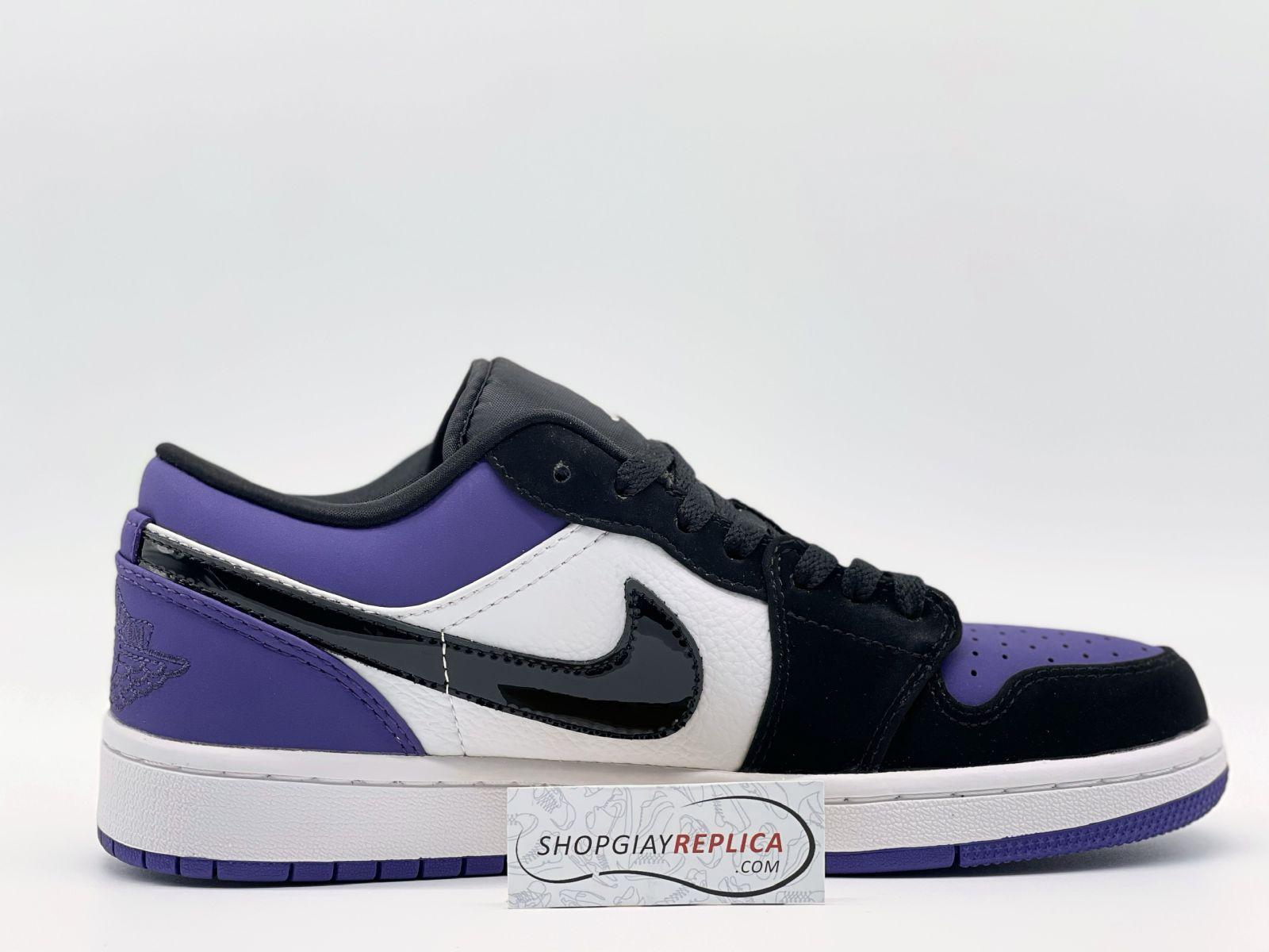 Nike Jordan 1 Low Court Purple