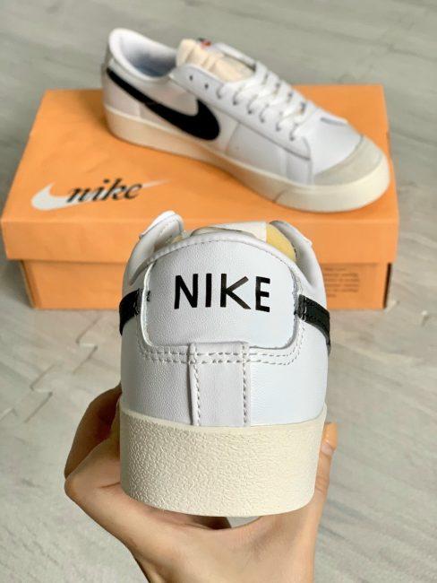 Giày Nike Blazer Low 77 Vintage trắng đen