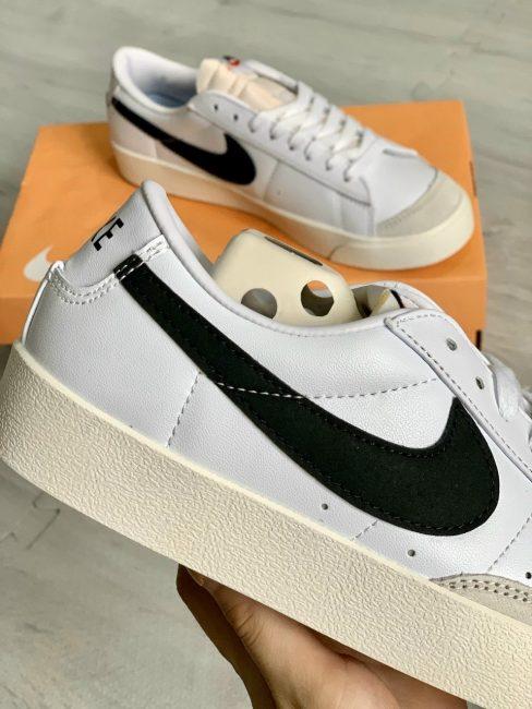 Giày Nike Blazer Low 77 Vintage White Black