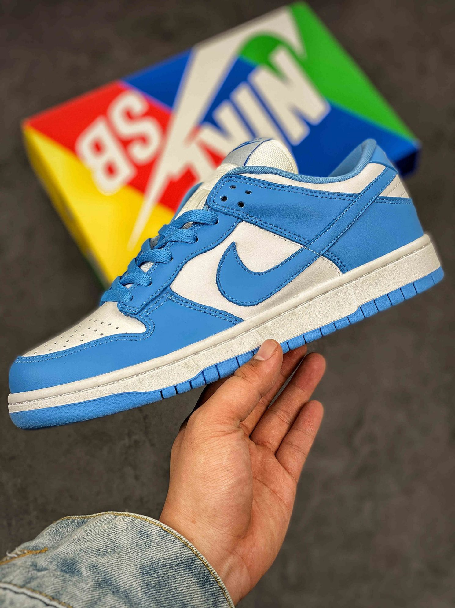 Nike Dunk Low UNC 2021 Rep 1:1
