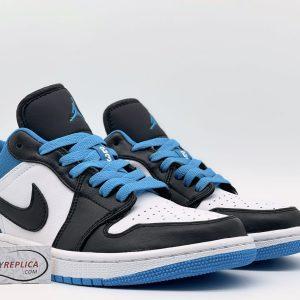 Giày Nike Jordan 1 Low Laser Blue Rep11