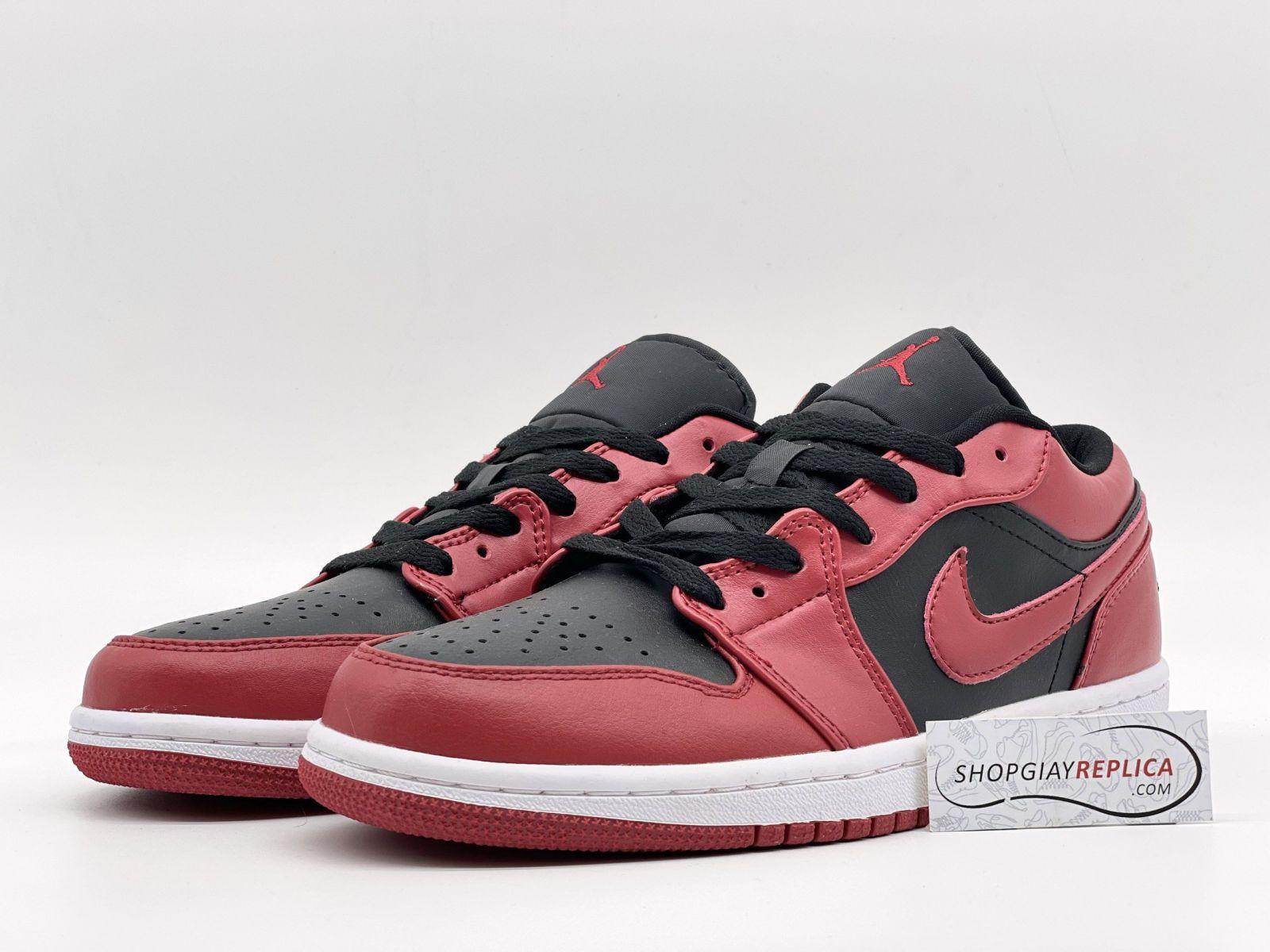 giày Nike Jordan 1 Low Reverse Bred Replica 1:1