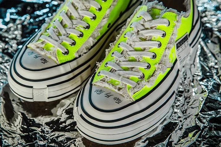 giày xvessel xanh rep11