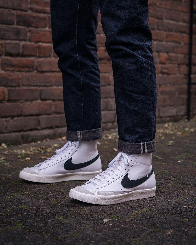 mix quần jeans mid blazer