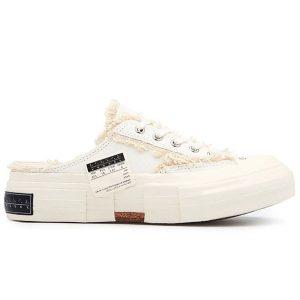 sục giày xvessel gop slip on white trắng