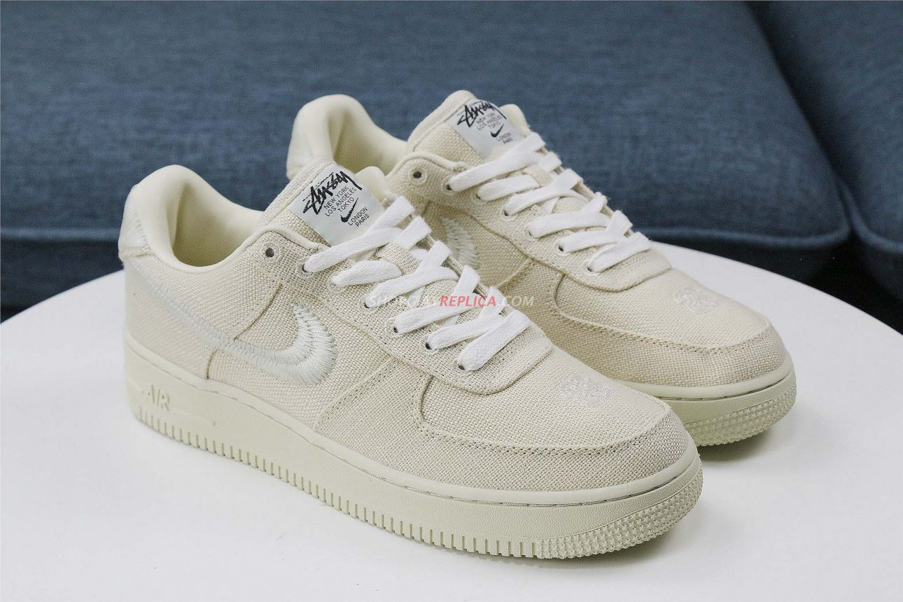 Nike Air Force 1 Low Stussy Fossil rep 11
