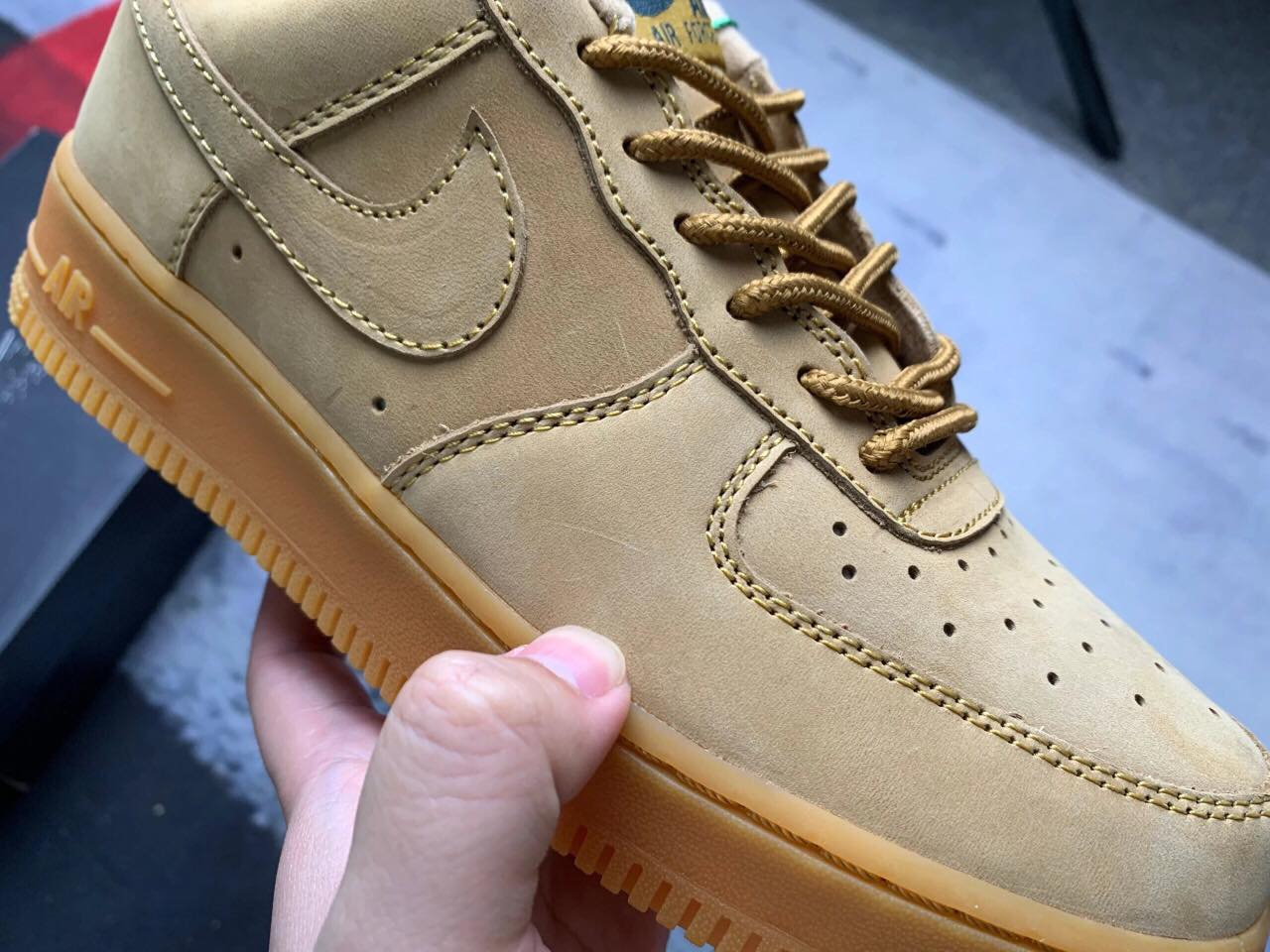 Giày Nike Air Force 1 Low Flax 11
