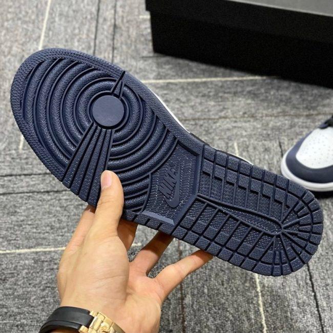 Nike Air Jordan 1 Retro Low Navy 11