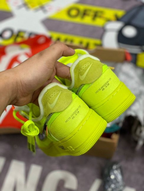 Giày Nike Air Force 1 Low Off White Volt