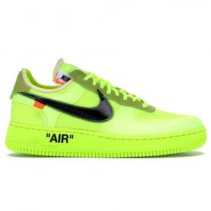 Giày Nike Air Force 1 Low Off White Volt 11