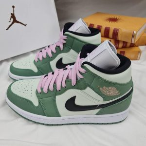 Nike Air Jordan 1 Mid Dutch Green Rep 1:1
